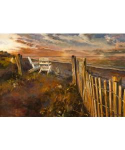 Marilyn Hageman, The Beach at Sunset