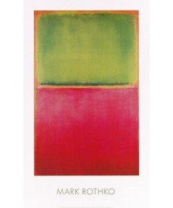Mark Rothko, Untitled (Green, Red on Orange)