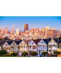 MasterLu, The Painted Ladies of San Francisco, California, USA.