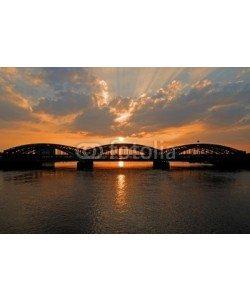 Matthias Krüttgen, Sonnenuntergang über dem Freihafen