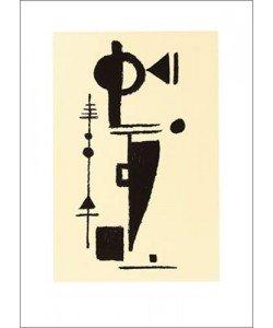 Max Ackermann, Formspiel, 1948 (Büttenpapier)