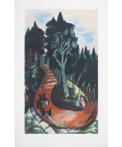 Max Beckmann, Wegkehre im Schwarzwald