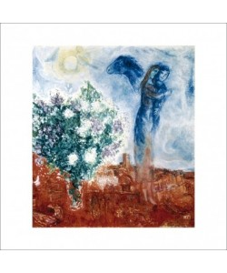 Marc Chagall, Die Liebenden über St. Paul