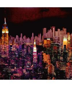 Mereditt.f, New York by Night I