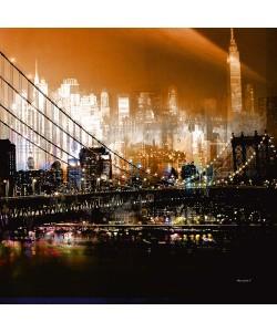 Mereditt.f, Brooklyn Bridge by Night