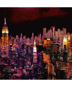 Mereditt.f, New York by Night I