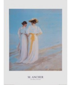 Michael Ancher, Zwei Damen am Strand