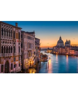 Sunrise at the Grand Canal, Michael Abid