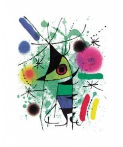 Joan Miro, The Singing Fish