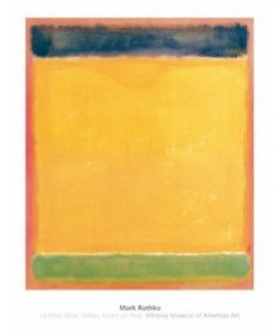 Mark Rothko, Untitled (Blue, Yellow, Green, Red)