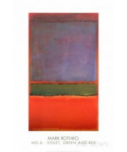 Mark Rothko, No. 6 (Violet, Green & Red), 1951