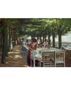Max Liebermann, Terrasse des Restaurants Jacob
