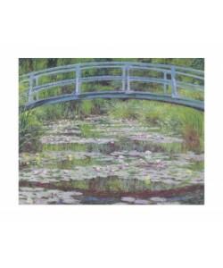 Claude Monet, Seerosen & Japanische Brücke