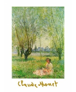 Claude Monet, Woman Under The Willow