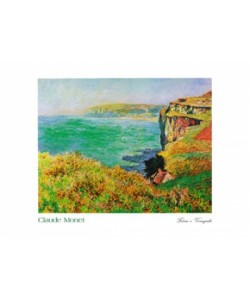 Claude Monet, Falaise à Varengeville