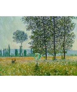 Claude Monet, Sunlight Under The Poplars