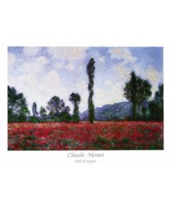 Claude Monet, Field of Poppies