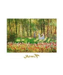 Claude Monet, La famille d\'artiste