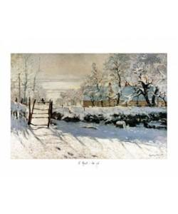 Monet Claude, La pie