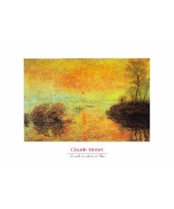 Claude Monet, Le coucher du soleil la Seine