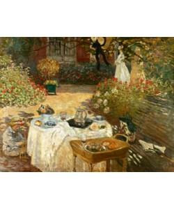 Claude Monet, The Luncheon: Monet \'s Garden at Argenteuil