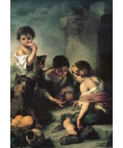 Bartolomé Esteban Murillo, Buben beim Würfelspiel