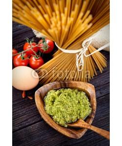 Alu-Dibond-Bild mythja, Pasta ingredients