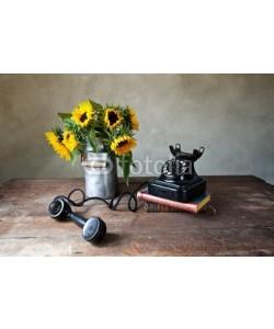 Nailia Schwarz, Telefon und Sonnenblumen