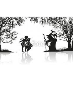 namosh, Hänsel und Gretel begegnen der Hexe