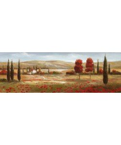 Digitaldruck Nan, Tuscan Poppies II