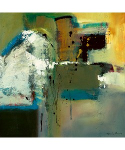 Natasha Barnes, Abstract in Green I