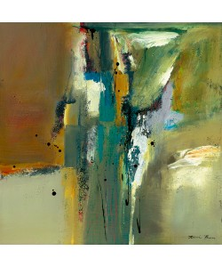 Natasha Barnes, Abstract in Green II