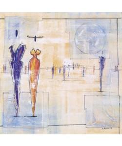Neumark Joram, Walk On By IV (Creme/Blue)