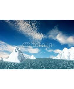 nicholashan, Snow mountain with nice sky