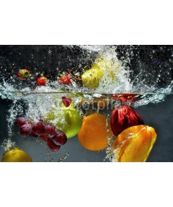Nmedia, Fruit and vegetables splash into water