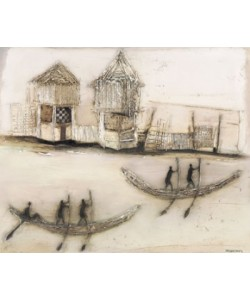 Jan Eelse Noordhuis, Boats on the River II