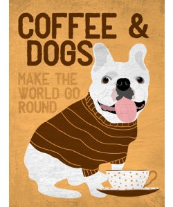 Ginger Oliphant, Coffee and Dogs French Bulldog