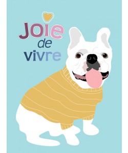 Ginger Oliphant, French Bulldog Joie de vivre