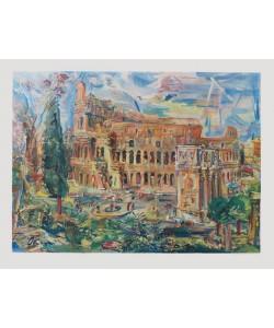 Oskar Kokoschka, Rom, Das Kolosseum