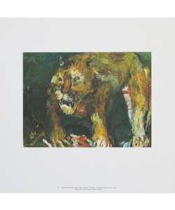 Oskar Kokoschka, Tigerlöwe