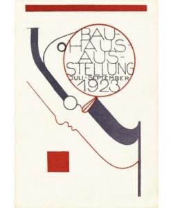 Oskar Schlemmer, Bauhaus-Ausstellung Postkarte