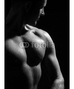 Oscar Brunet, Nackter Männerbody