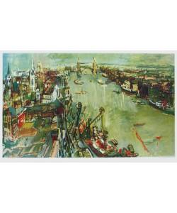Oskar Kokoschka, London - Towerbridge