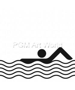 Otl Aicher  Schwimmbad