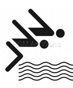 Otl Aicher  Schwimmen