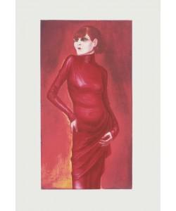 Otto Dix, Bildnis der Tänzerin Anita Berber, 1925 (Granolitho-Druck auf Bütten)