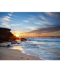 p a w e l, australian beach at sunrise