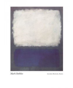 Mark Rothko, Blue and grey, 1962