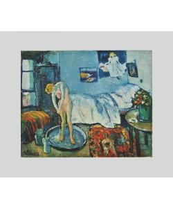 Pablo Picasso, Die Badewanne (auf Bütten)