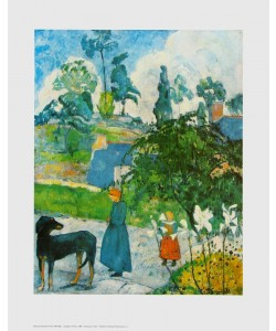 Paul Gauguin, Landschaft in der Bretagne